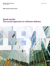 Small worlds: The social approach to software delivery