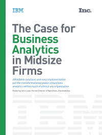 The Case for Business Analytics at Mid-size Firms