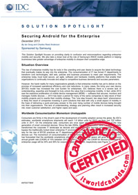 Solution Spotlight - Securing Android For the Enterprise