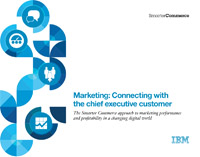 Marketing: Connecting with the chief executive customer
