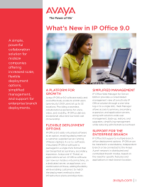 What's New in IP Office 9.0?