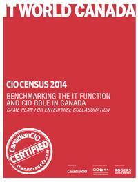CIO Census 2014, Benchmarking the Evolution of the CIO and IT Role