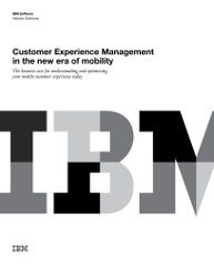 Customer Experience Management in the new era of mobility