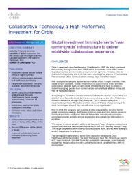Collaborative Technology a High-Performing Investment for Orbis
