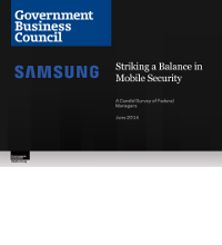 Striking a Balance in Mobile Security - A Candid Survey of Federal Managers