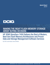 Making The Right Flash Memory Storage Array Buying Decision