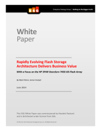 Rapidly Evolving Flash Storage Architecture Delivers Business Value