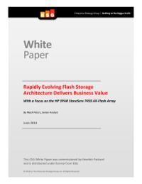 Rapidly Evolving Flash Storage Architecture Delivers Business Value