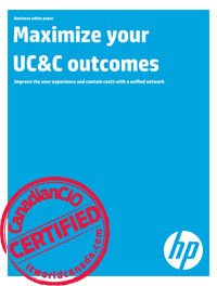 Maximize your UC&C outcomes - Improve the user experience and contain costs with a unified network