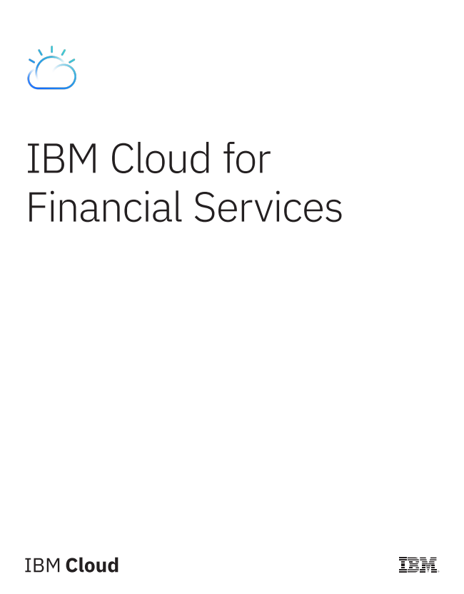 IBM Cloud for Financial Services
