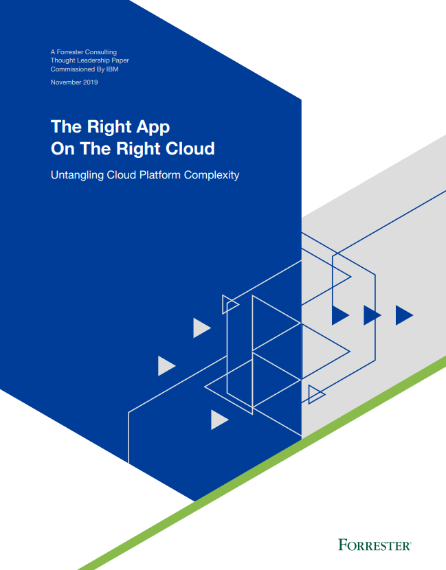 The Right App On The Right Cloud