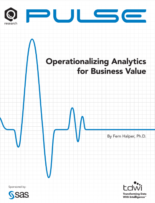 Operationalizing Analytics for Business Value