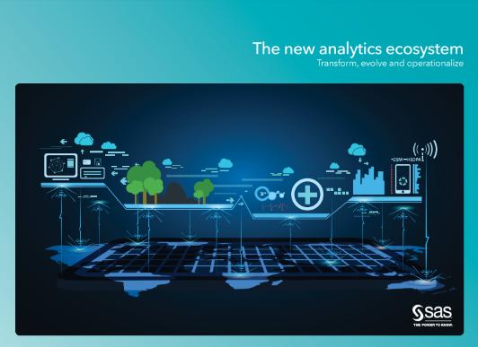 The New Analytics Ecosystem