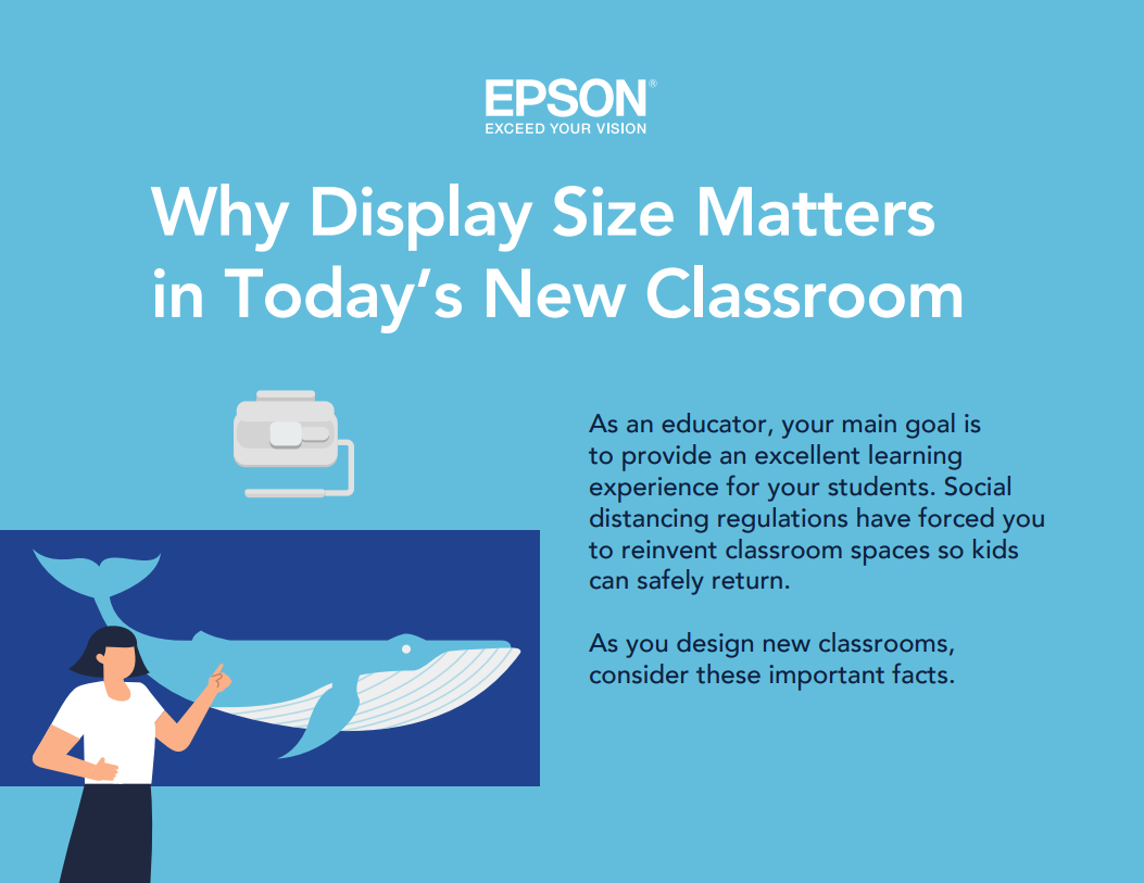 Why Display Size Matters in Todays New Classroom