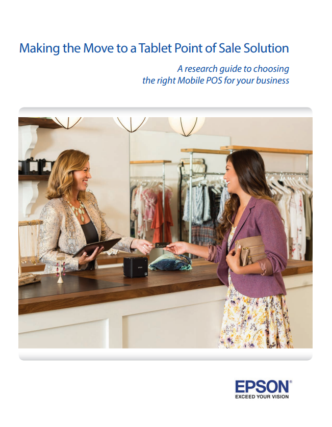 Making the Move to a Tablet Point of Sale Solution