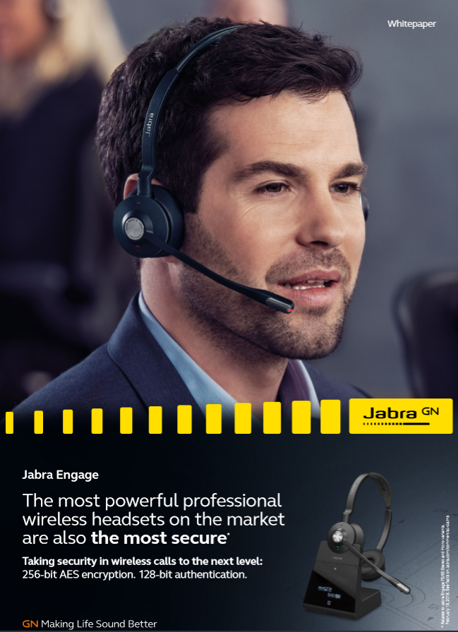 The most powerful professional wireless headsets on the market are also the most secure
